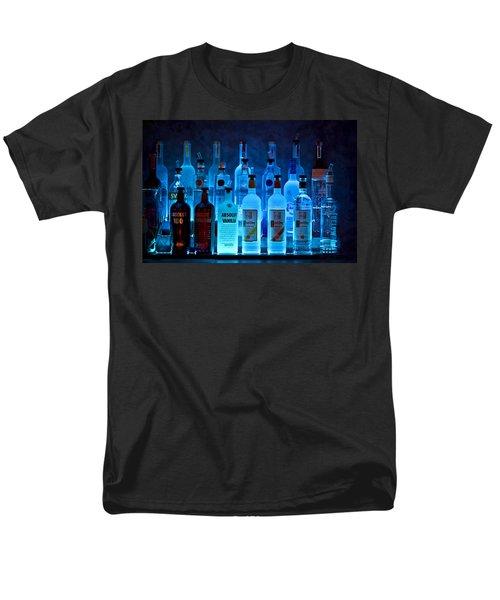 Blue Night Shadows T-Shirt by Evelina Kremsdorf