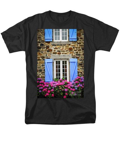 Blue shutters T-Shirt by Elena Elisseeva