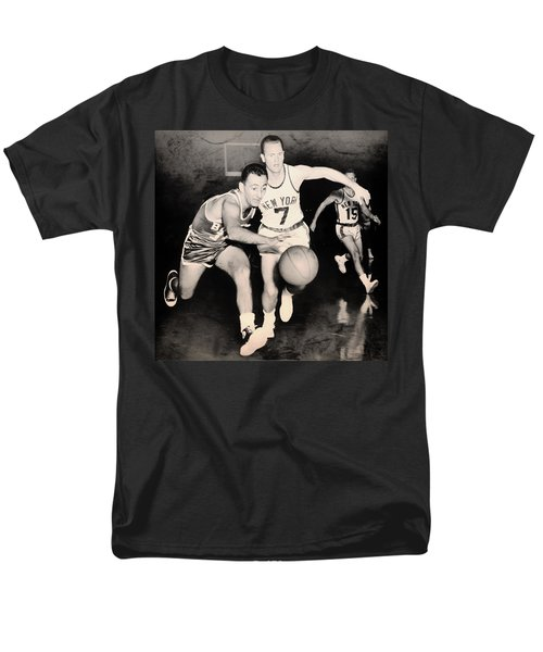 Bob Cousy of the Celtics 1960 T-Shirt by Mountain Dreams