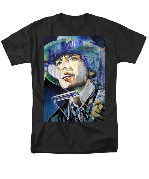 Bob Dylan Tangled Up In Blue Men's T-Shirt  (Regular Fit) by Joshua Morton