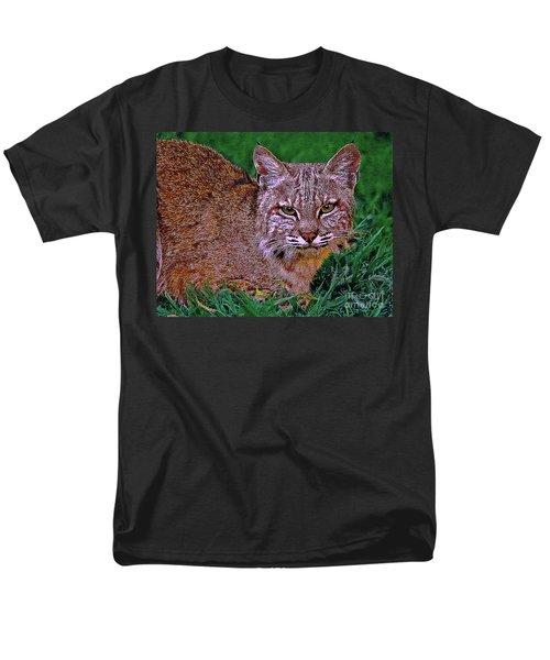 Bobcat Sedona Wilderness T-Shirt by  Bob and Nadine Johnston