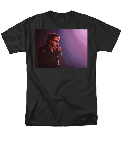 Bono U2 Men's T-Shirt  (Regular Fit) by Paul Meijering