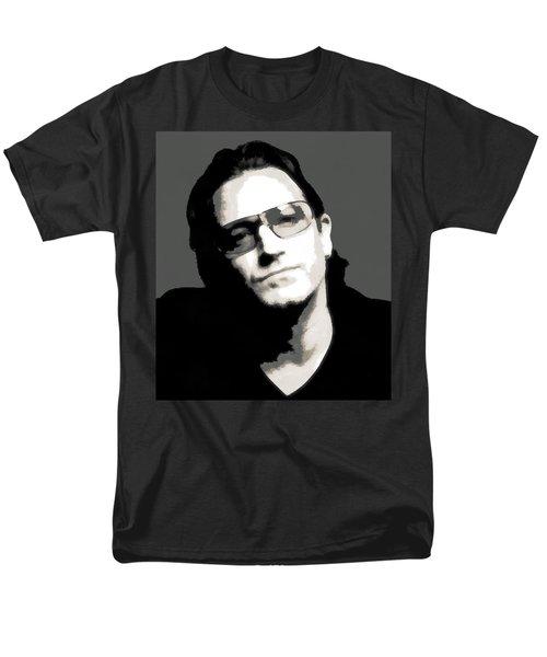 Bono Poster Men's T-Shirt  (Regular Fit) by Dan Sproul