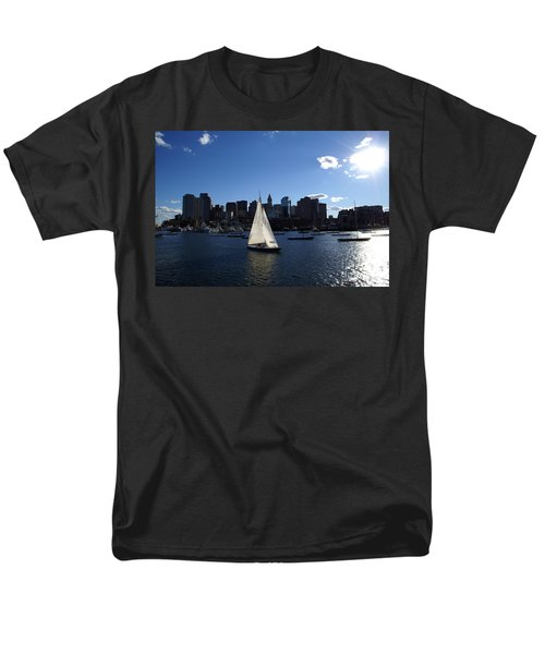 Boston Harbor T-Shirt by Olivier Le Queinec