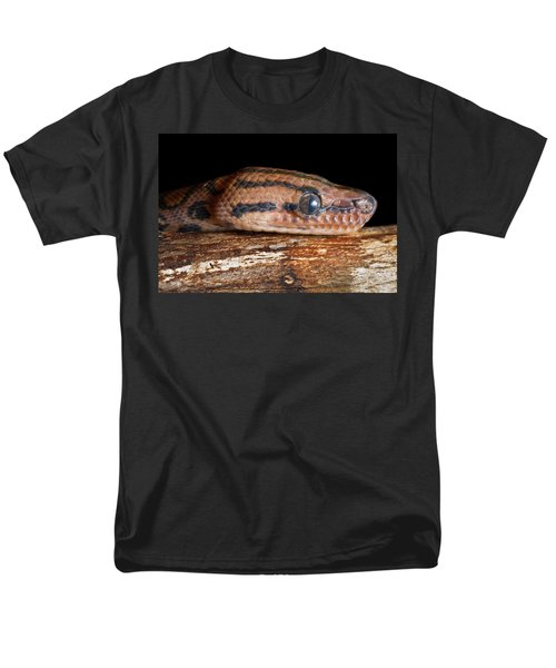 Men's T-Shirt  (Regular Fit) featuring the photograph Brazilian Rainbow Boa Epicrates Cenchria by David Kenny