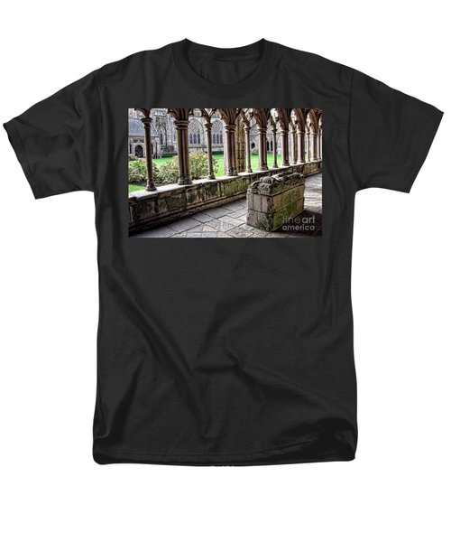 Brittany Cloister  T-Shirt by Olivier Le Queinec