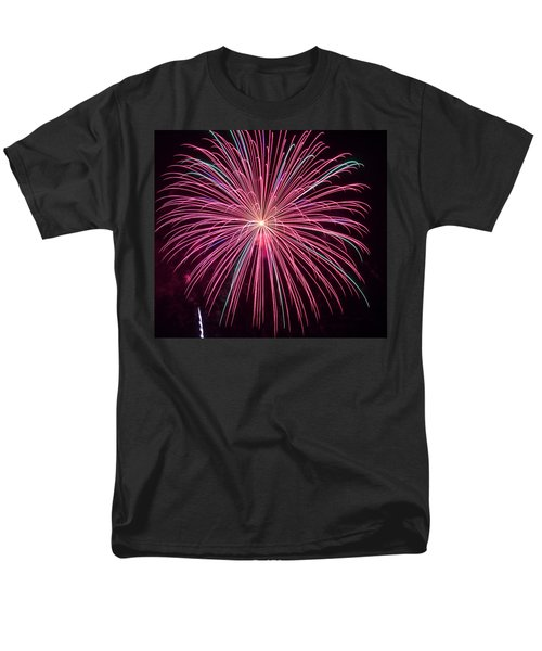 4th of July Fireworks 24 T-Shirt by Howard Tenke