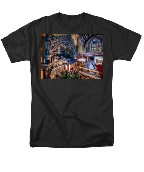 Candles at Christmas T-Shirt by Adrian Evans