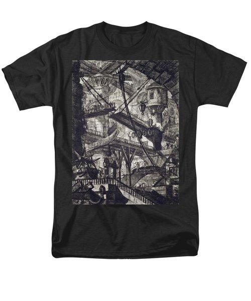 Carceri Vii Men's T-Shirt  (Regular Fit) by Giovanni Battista Piranesi