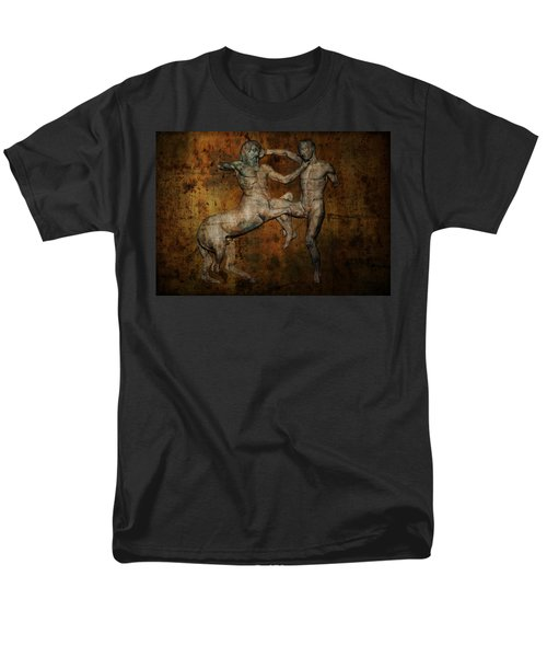 Centaur Vs Lapith Warrior Men's T-Shirt  (Regular Fit) by Daniel Hagerman