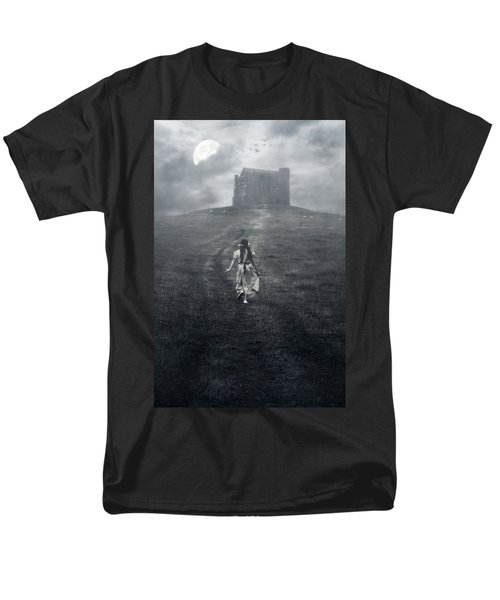 chapel in mist T-Shirt by Joana Kruse