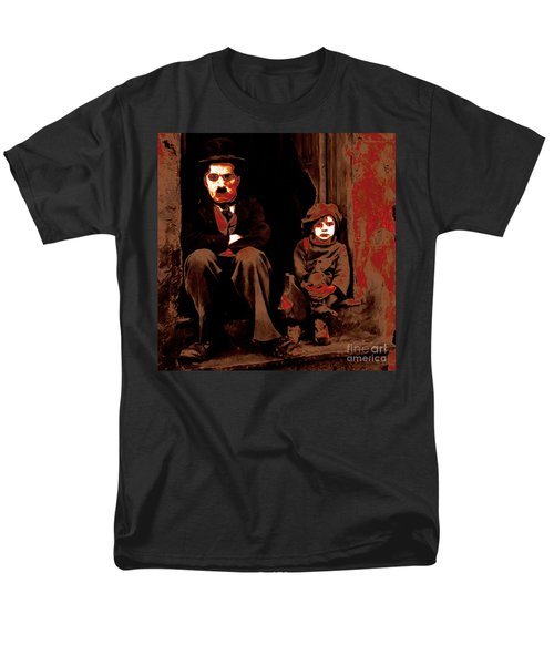 Charlie Chaplin 20130212-2-square T-Shirt by Wingsdomain Art and Photography