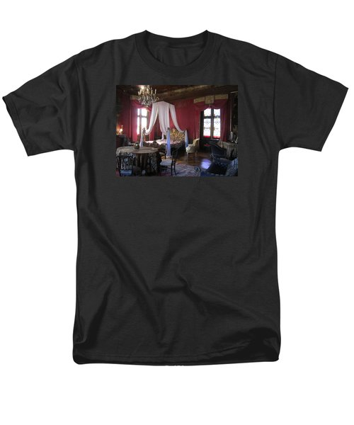 Men's T-Shirt  (Regular Fit) featuring the photograph Chateau De Cormatin by Travel Pics