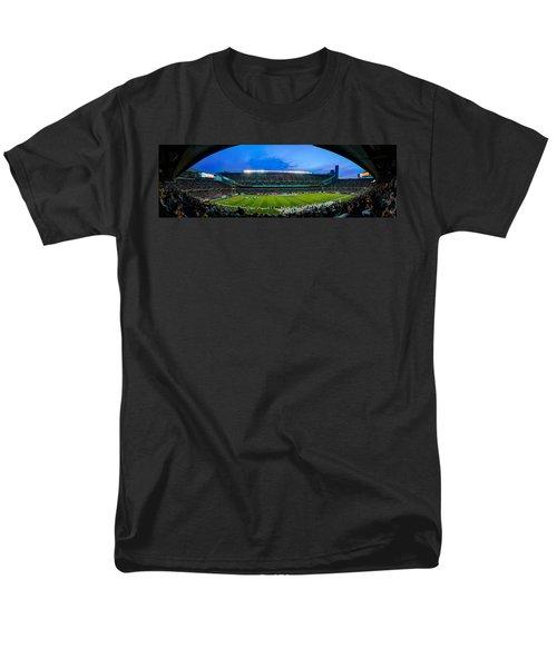 Chicago Bears At Soldier Field Men's T-Shirt  (Regular Fit) by Steve Gadomski