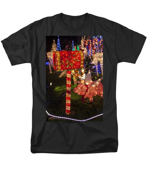 Christmas Mailbox T-Shirt by Garry Gay