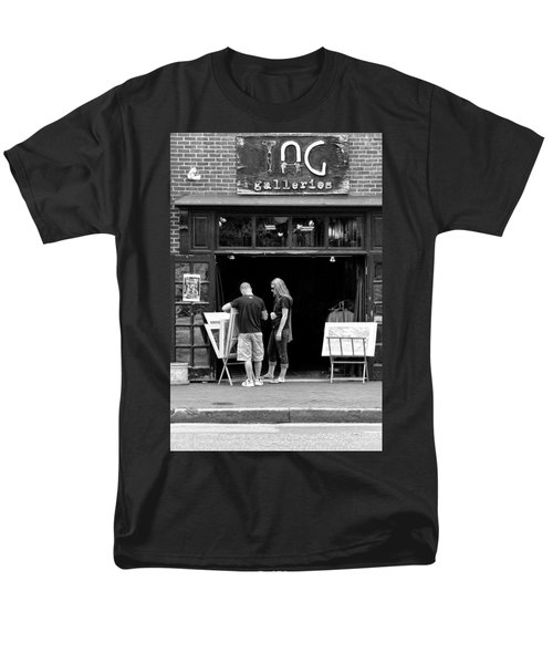 City - Baltimore MD - Tag Galleries  T-Shirt by Mike Savad