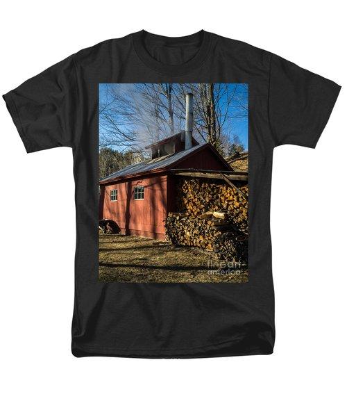 Classic Vermont Maple Sugar Shack T-Shirt by Edward Fielding