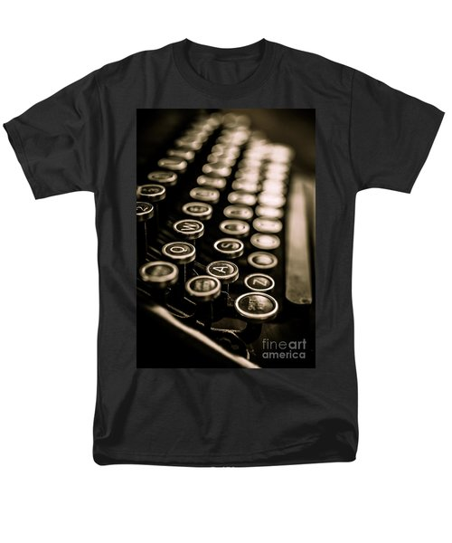 Close up vintage typewriter T-Shirt by Edward Fielding