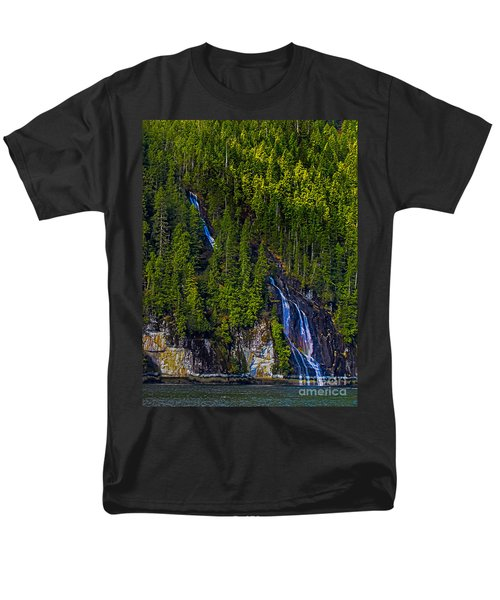 Coastal Waterfall T-Shirt by Robert Bales