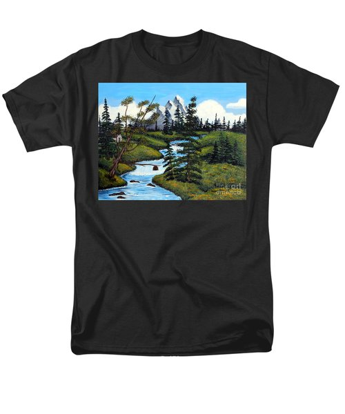 Cold Rattling Brook  T-Shirt by Barbara Griffin