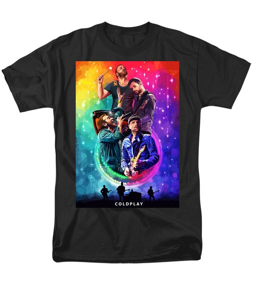 Coldplay Mylo Xyloto Men's T-Shirt  (Regular Fit) by FHT Designs