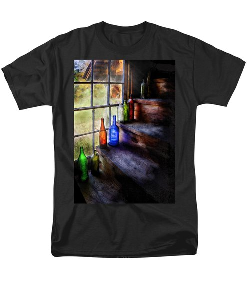 Collector - Bottle - A collection of bottles T-Shirt by Mike Savad
