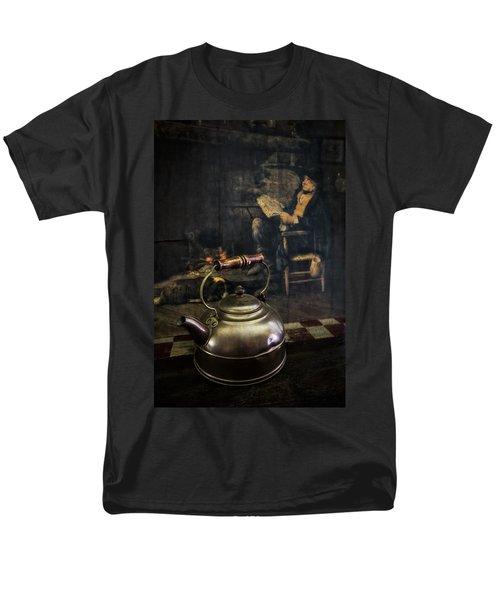 Copper Teapot T-Shirt by Debra and Dave Vanderlaan