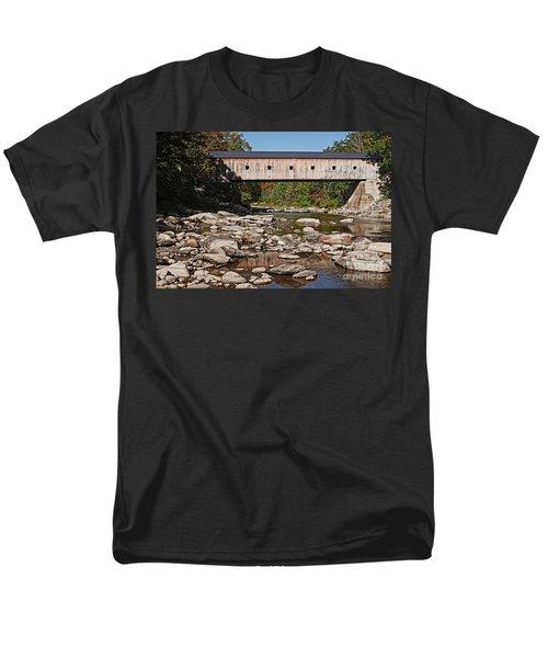 Covered Bridge Vermont T-Shirt by Edward Fielding