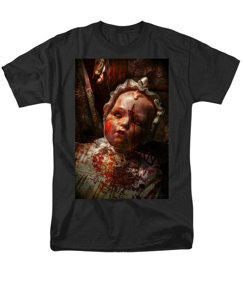 Creepy - Doll - It's best to let them sleep  T-Shirt by Mike Savad