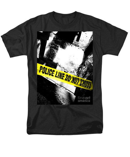 Crime Scene T-Shirt by Olivier Le Queinec