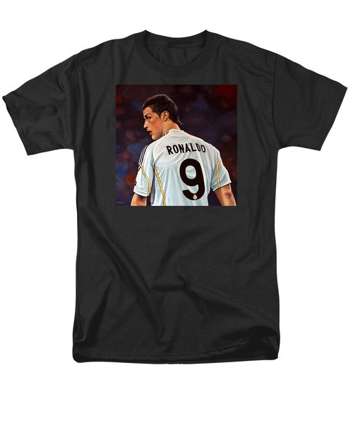 Cristiano Ronaldo Men's T-Shirt  (Regular Fit) by Paul Meijering