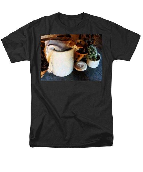 Crock and Basket T-Shirt by Susan Savad