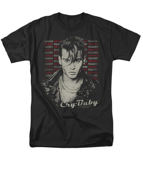 Cry Baby - Drapes And Squares Men's T-Shirt  (Regular Fit) by Brand A
