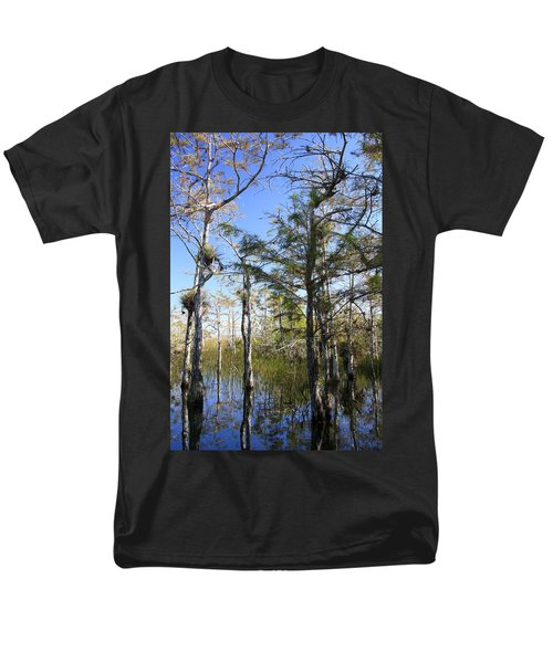 Cypress Swamp T-Shirt by Rudy Umans