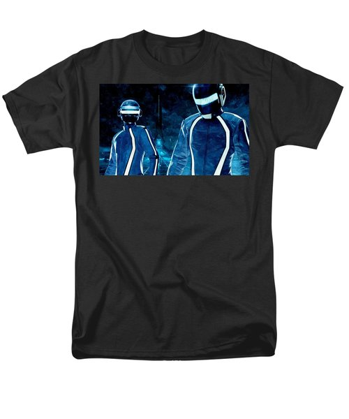 Daft Punk in Tron Legacy T-Shirt by Florian Rodarte