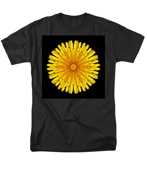 Dandelion Flower Mandala T-Shirt by David J Bookbinder