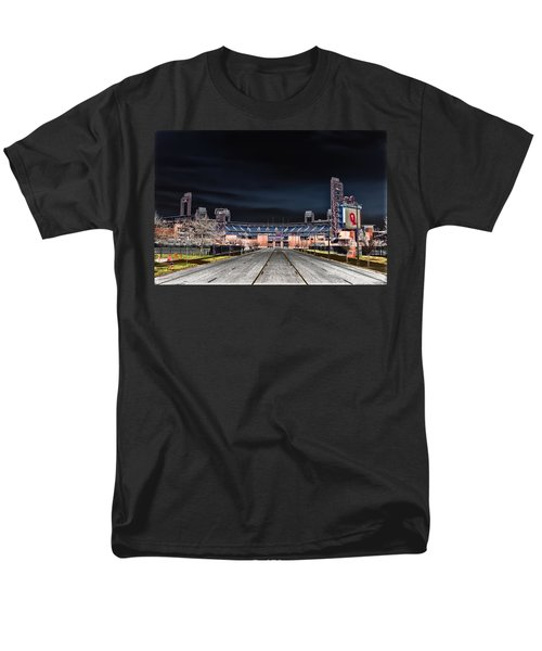 Dark Skies at Citizens Bank Park T-Shirt by Bill Cannon