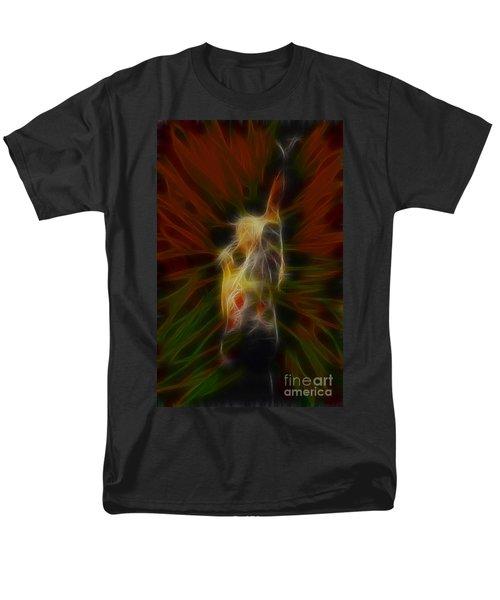 Def Leppard-adrenalize-joe-gb22-fractal Men's T-Shirt  (Regular Fit) by Gary Gingrich Galleries