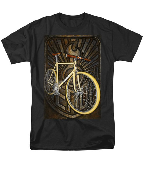 Demon path racer bicycle T-Shirt by Mark Howard Jones