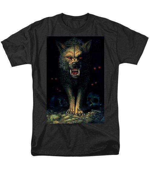 Demon Wolf T-Shirt by MGL Studio - Chris Hiett