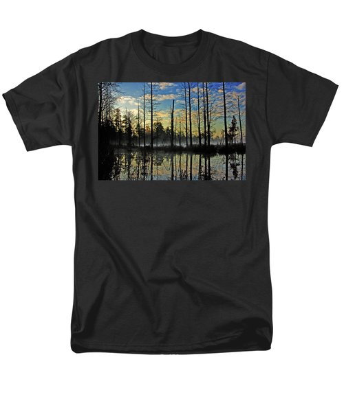 Devils Den in The Pine Barrens T-Shirt by Louis Dallara