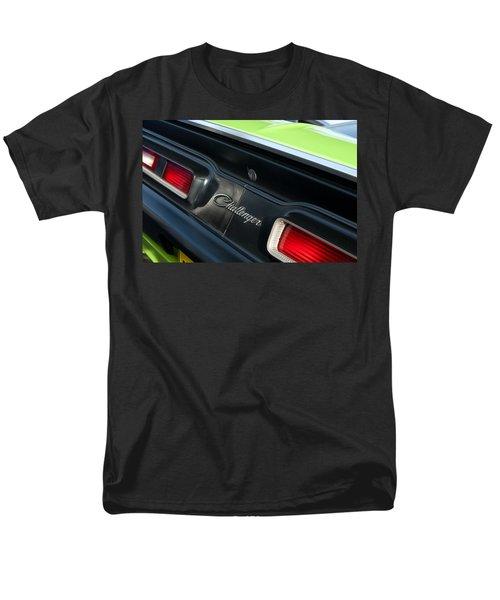 Dodge Challenger 440 Magnum RT Taillight Emblem T-Shirt by Jill Reger