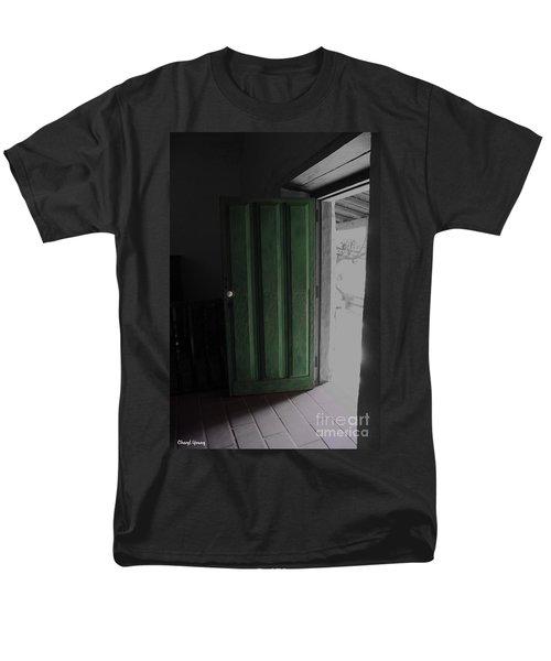 Doors Open T-Shirt by Cheryl Young