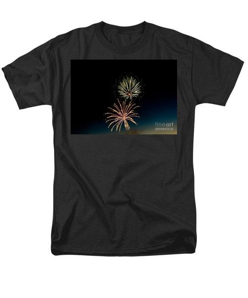 Double Fireworks Blast T-Shirt by Robert Bales
