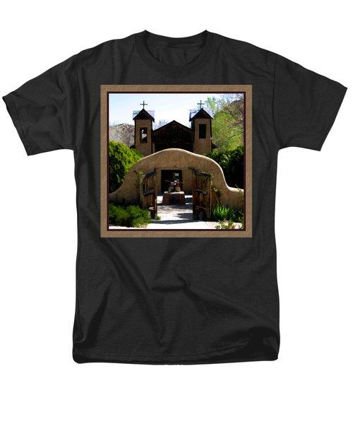 El Santuario de Chimayo T-Shirt by Kurt Van Wagner
