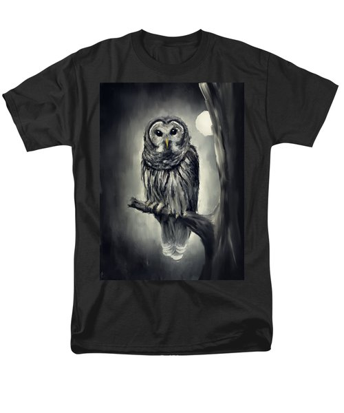 Elusive Owl T-Shirt by Lourry Legarde