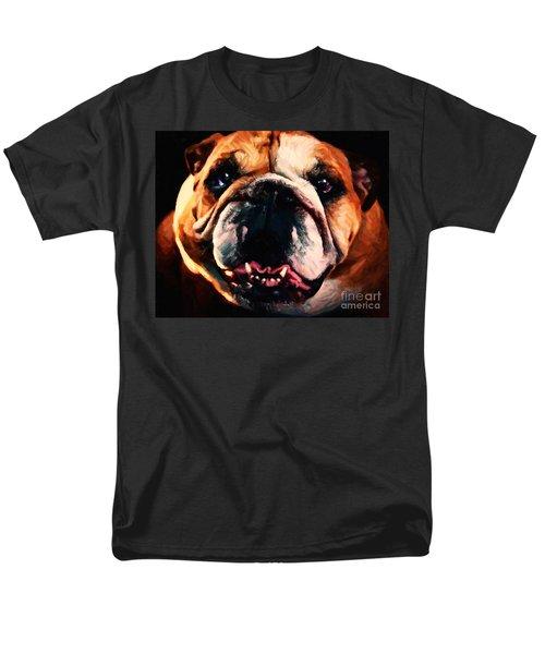 English Bulldog - Painterly T-Shirt by Wingsdomain Art and Photography