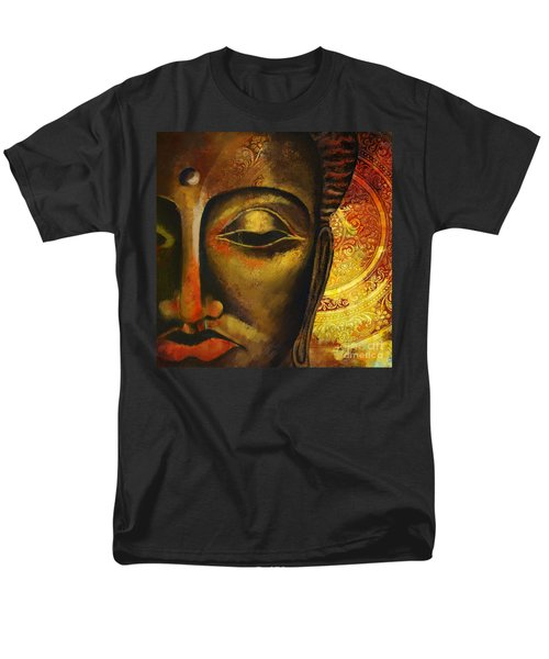 Face of Buddha  T-Shirt by Corporate Art Task Force