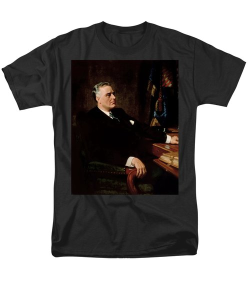 FDR Official Portrait  T-Shirt by War Is Hell Store