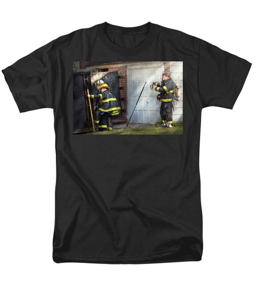 Fireman - Take all fires seriously  T-Shirt by Mike Savad